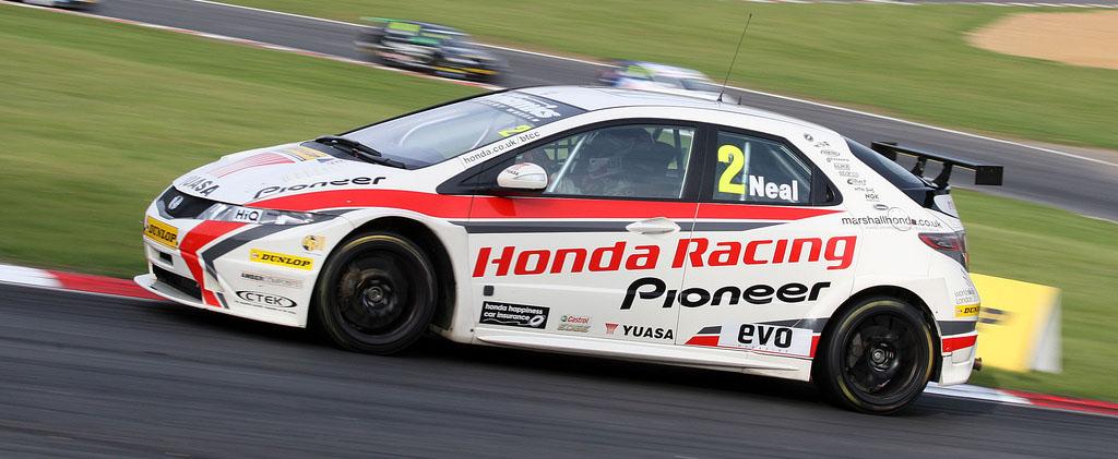 Matt Neal on pole as Hondas dominate