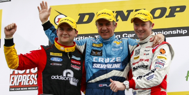 Jason Plato doubles up in round two
