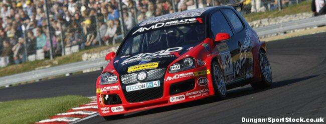 Shaun Hollamby back behind wheel of AmD Golf
