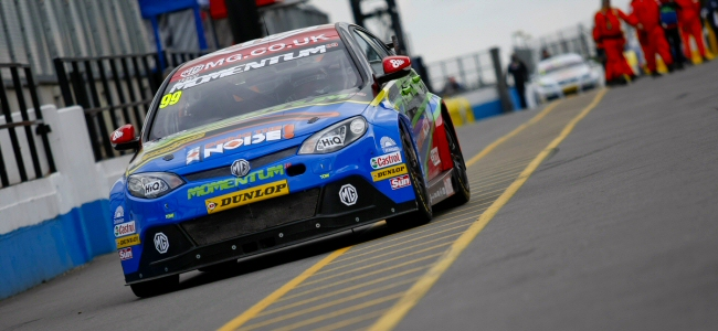 Jason Plato takes first MG6 pole