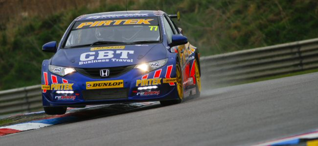 Andrew Jordan on pole in eventful qualifying