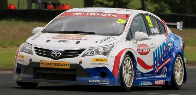 Croft points for Toyota trio