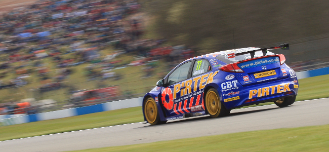 Home success for Andrew Jordan at Donington