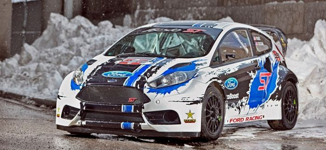 Jordan to test Fiesta Rallycross car