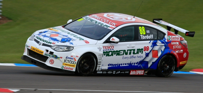 Sam Tordoff quickest in rain-hit first practice