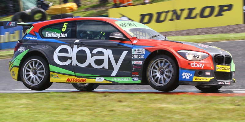 Fastest time for Colin Turkington in wet practice