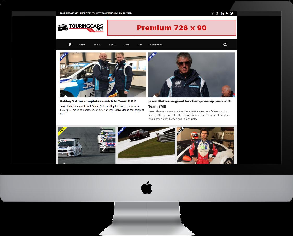 TouringCars.Net adverising Mac