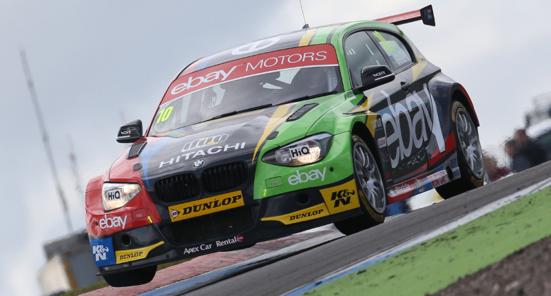 'Phenomenal' final race for eBay Motors at Knockhill