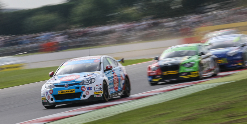 Jason Plato holds on for race one victory