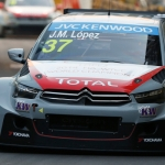 López wins Macau race one ahead of Honda trio