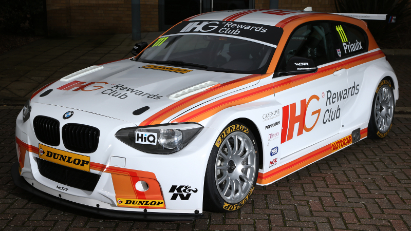 Andy Priaulx returns to the BTCC with WSR