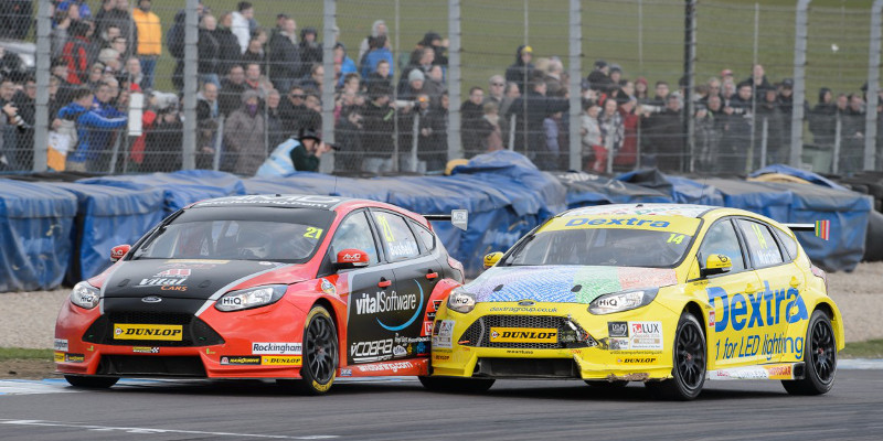 Mike Bushell was unable to add to his points tally at Donington Park