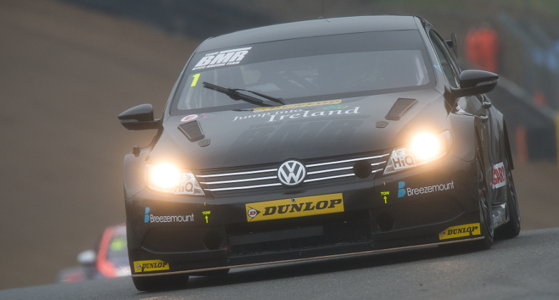 Colin Turkington tops second practice