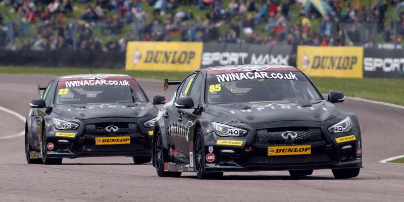 Infiniti withdraw backing for Support Our Paras Racing