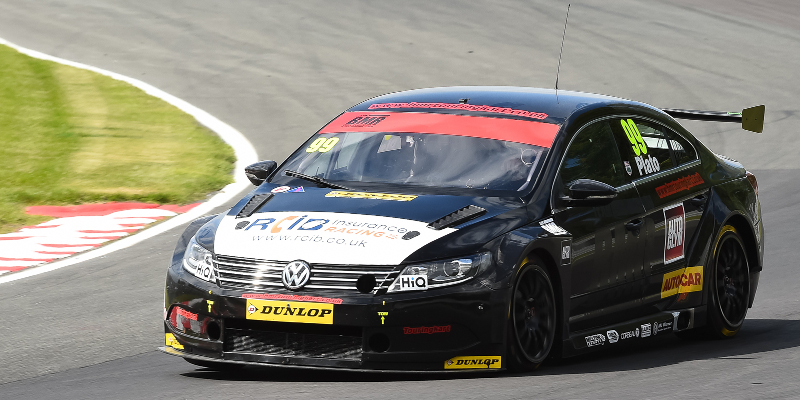 Jason Plato dominates shortened opening race