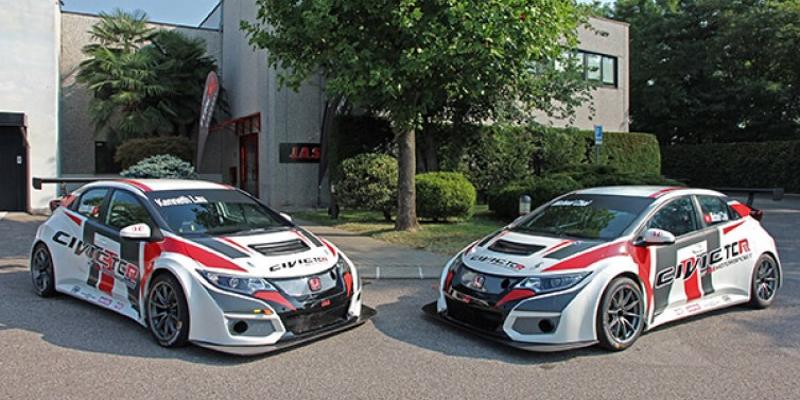 JAS Motorsport TCR Honda Civic