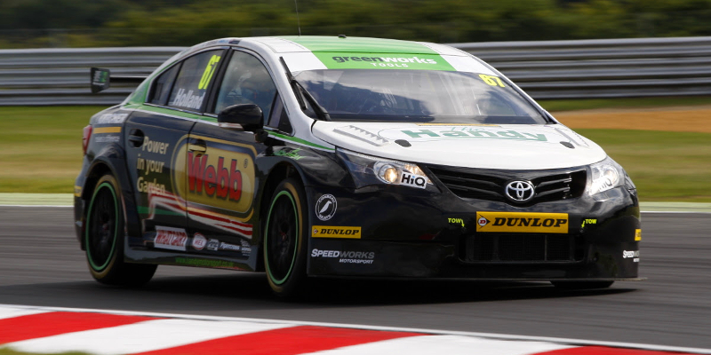Robb Holland happy with return to BTCC action