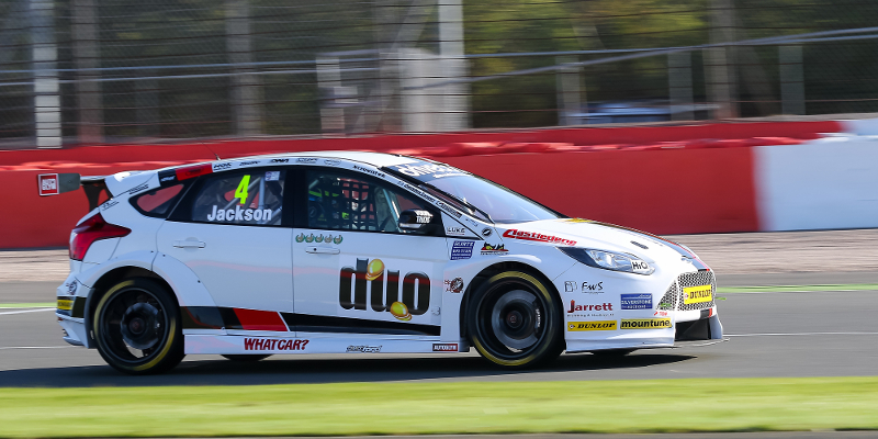 Mat Jackson stays on top in practice two