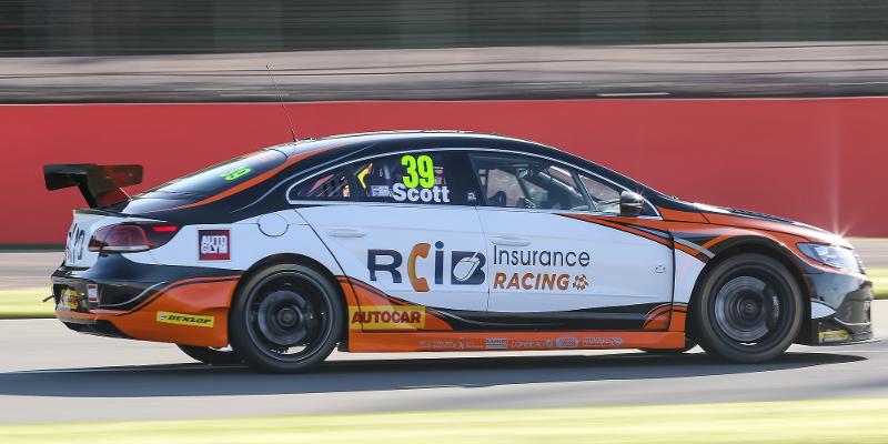 Warren Scott out of remainder of Silverstone weekend