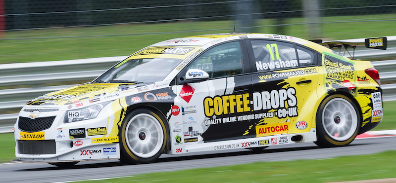 Dave Newsham looking to push for race two podium