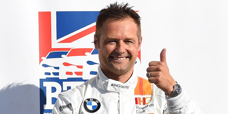 "Andy Priaulx happy on having a ""strong year"""