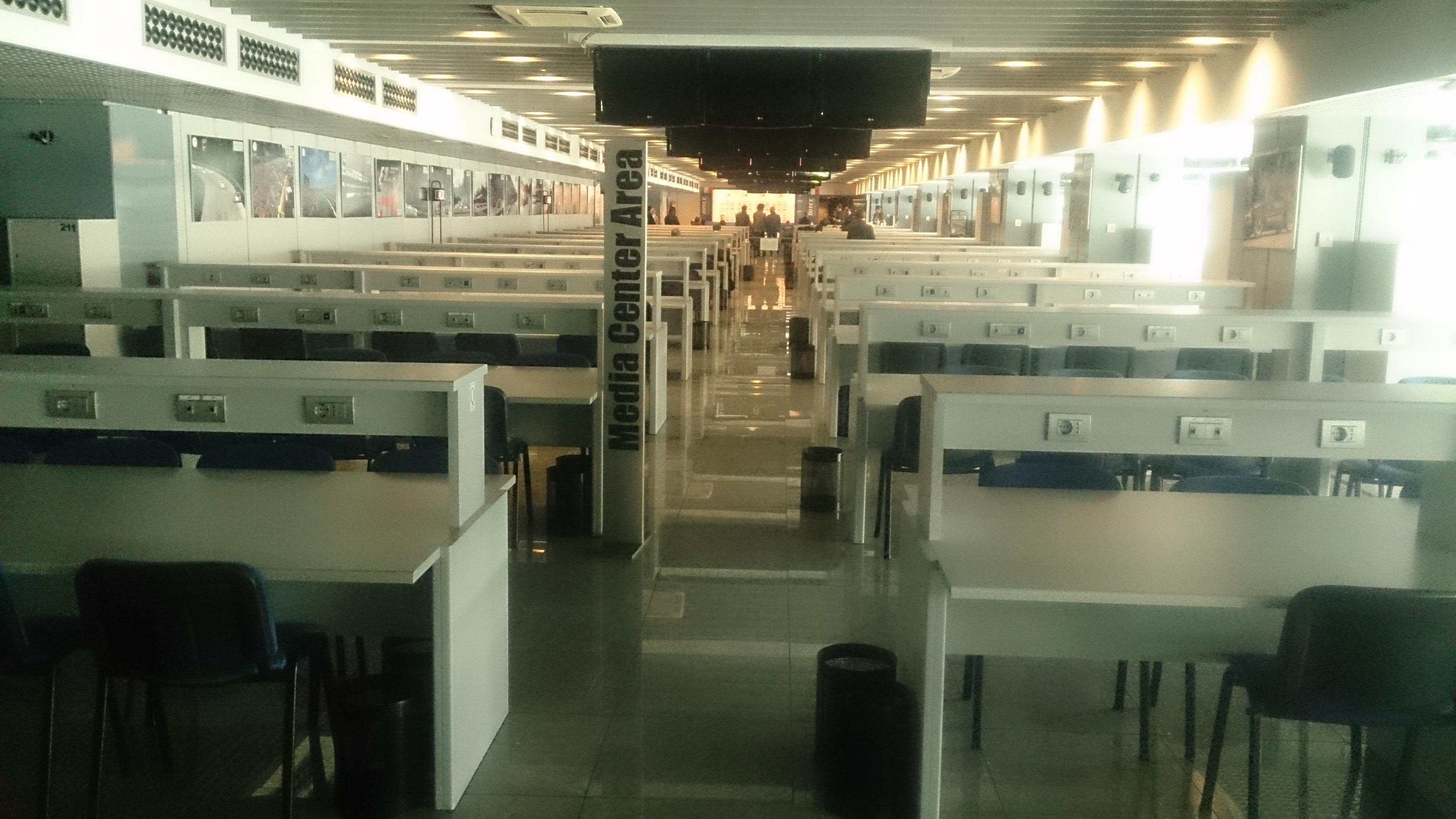 Monza media centre