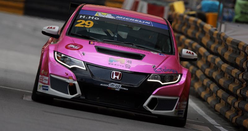 Henry Ho (MAC) Honda Civic TCR, Pas Macau Racing Team