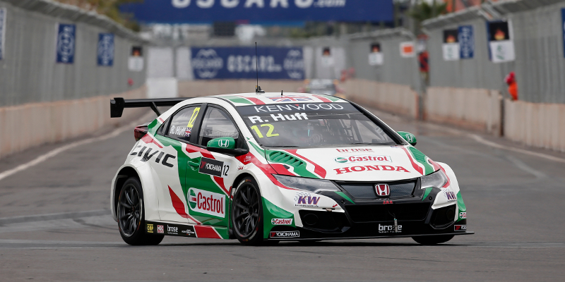 12 HUFF Rob (GBR) Honda Civic team Castrol Honda WTCC action during the 2016 FIA WTCC World Touring Car Race of Morocco at Marrakech, from May 6 to 8 2016 - Photo Jean Michel Le Meur / DPPI.