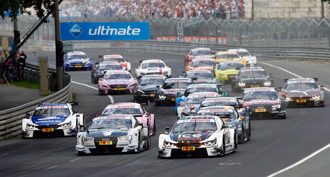 DTM race start at the Norisring