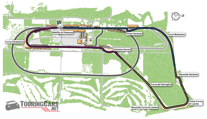 Autodromo Nazionale di Monza map