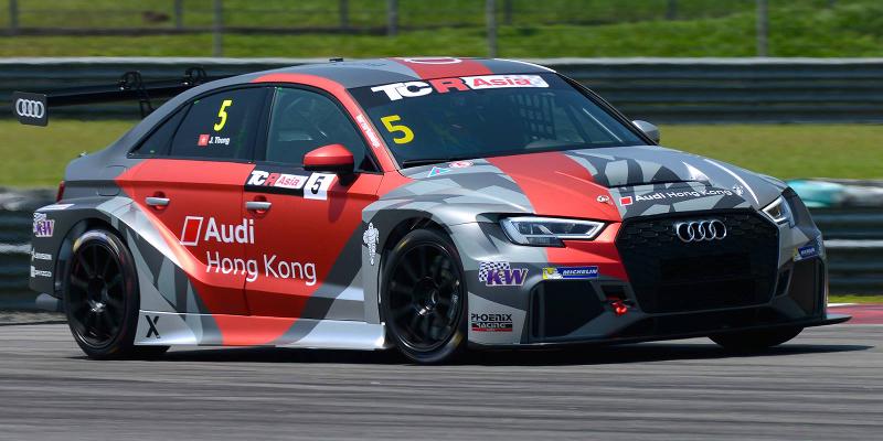 Audi RS3 LMS TCR Asia