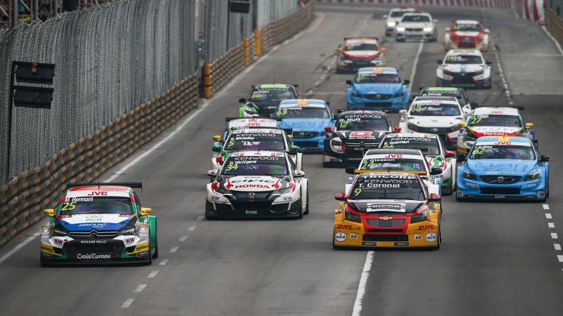 WTCC Macau race start