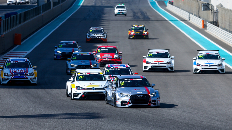 TCR Middle East race start