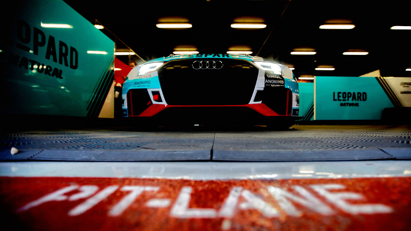 Audi Sport Leopard Lukoil