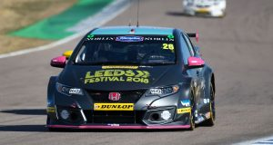 Dan Lloyd keeping 'realistic' expectations for second Knockhill visit of the year
