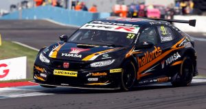 Dan Cammish claims maiden pole in frenetic Knockhill qualifying