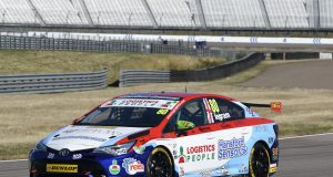 Championship leader Tom Ingram heads opening Rockingham practice