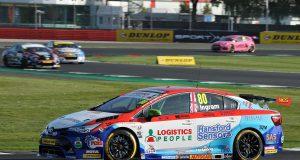 Tom Ingram praises 'rocket ship' Toyota in race two at Silverstone