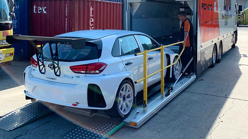 Hyundai i30 N TCR delivery