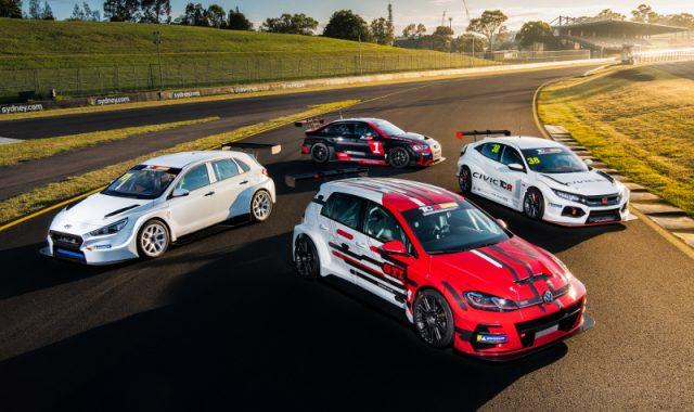 TCR Australia cars