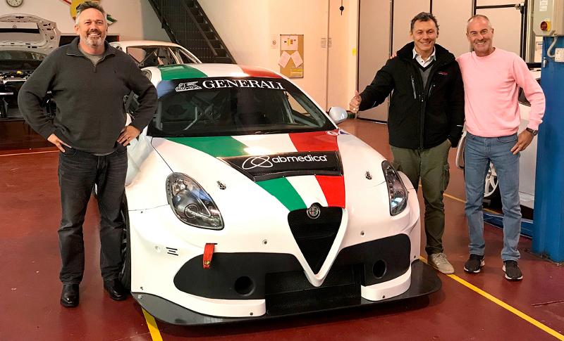 TCR Australia Alfa Romeo GRM