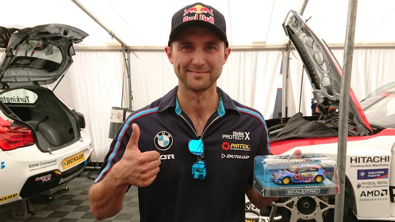 Andrew Jordan Scalextric car