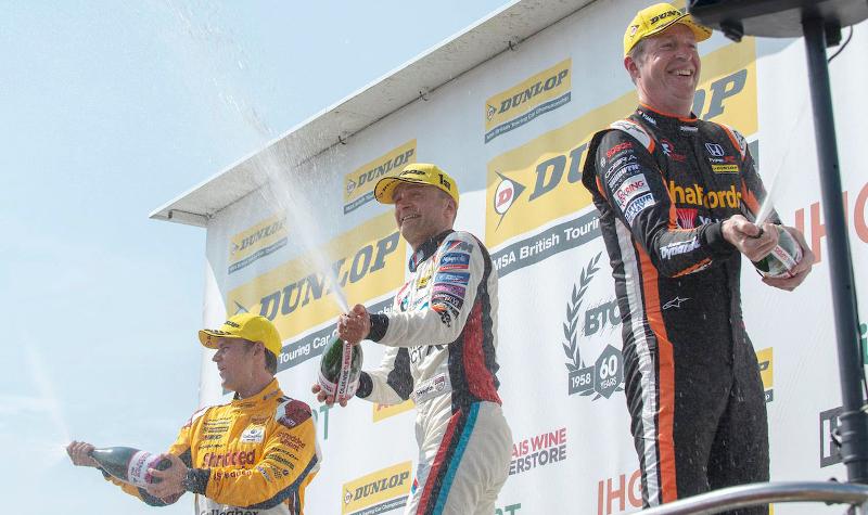 BTCC podium