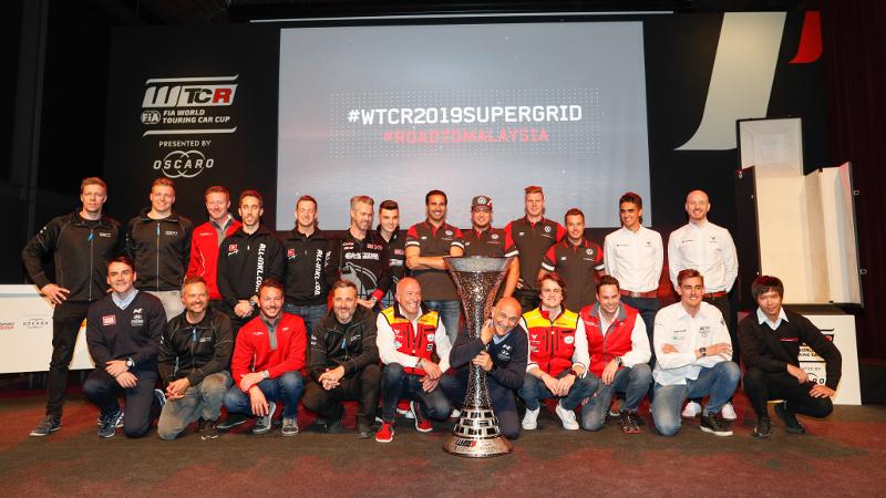 2019 FIA WTCR drivers