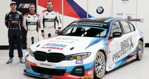 BMW shows off new BMW 3 Series ahead of BTCC launch