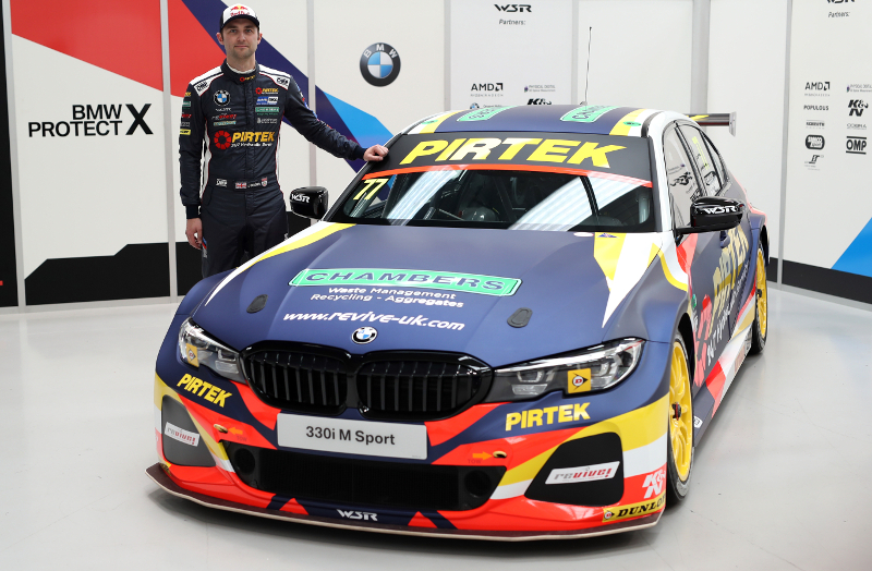 Andrew Jordan Pirtek BMW 2019