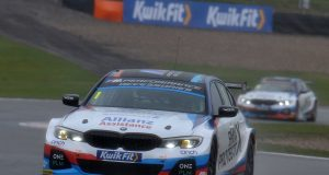 Colin Turkington secures first pole for BMW 330i in mixed Donington qualifying