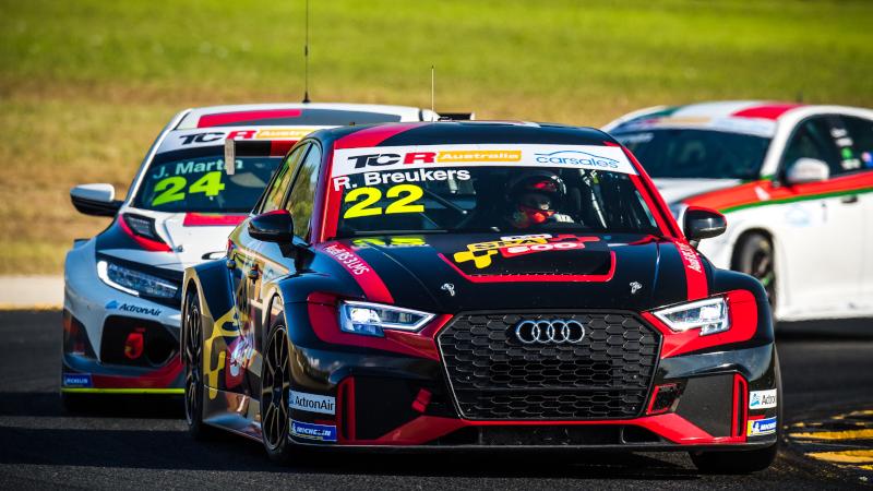 Audi RS3 LMS TCR Rik Breukers