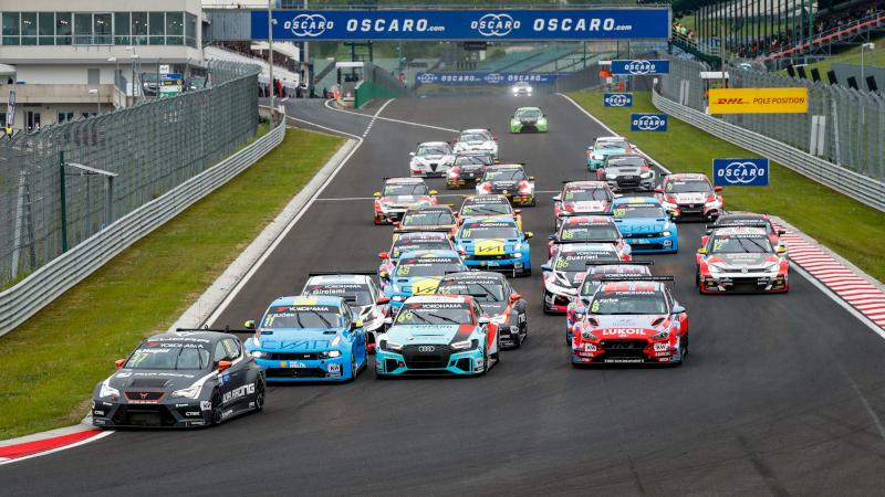 TCR race start