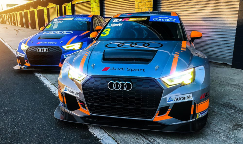 Audi RS3 LMS TCR Australia